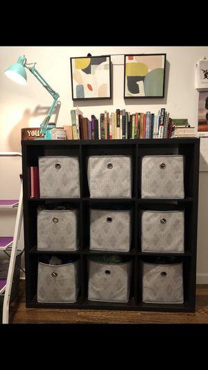 9 Fabric Cube storage bin + organizer shelf for Sale for sale  New York, NY