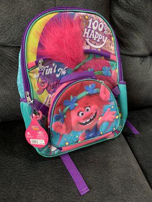 New Girls Dreamworks Trolls Backpack $10 for Sale in South Gate, CA