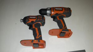 Ridgid set tools only impact and drill for Sale in Hemet, CA