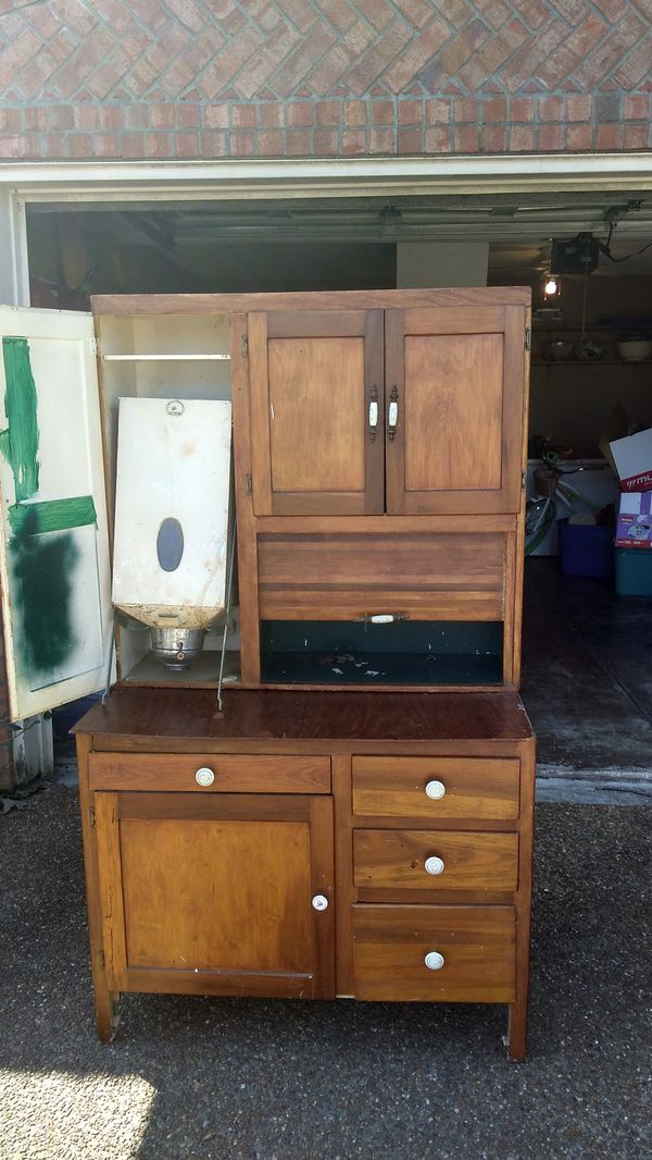 Hoosier Cabinet W Flour Sifter For Sale In Olive Branch