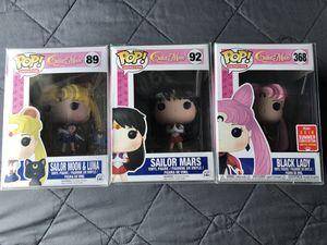 Funko Pop Sailor Moon Mars Vinyl figure collectible animation for Sale in Los Banos, CA
