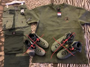 Travis Scott ONLY pants sz XXL $330 obo & suede shirt sz L $175 obo. Inbox me. Thanks! for Sale in Alameda, CA