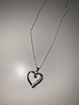 Sterling silver heart necklace for Sale in Rockville, MD