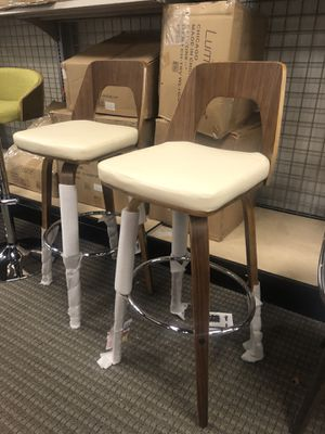 Set of 2 trilogy bar stools for Sale in Lincolnia, VA