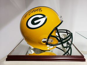 Used, DEVANTE ADAMS AUTOGRAPHED GREEN BAY PACKERS F/S HELMET JSA WITNESS PROTECTION COA for Sale for sale  York, PA