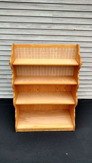 Amish built shelving unit. Originally $325. Yours for only $45! for Sale in Mount Vernon, OH