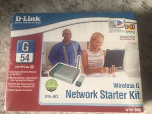 D - link Wireless G starter kit . for Sale in Pittsburgh, PA