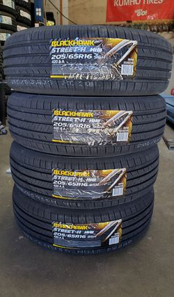 205 65 16 NEW TIRES KIA CAMRY ALTIMA ACCORD for Sale in Rancho Cucamonga,  CA