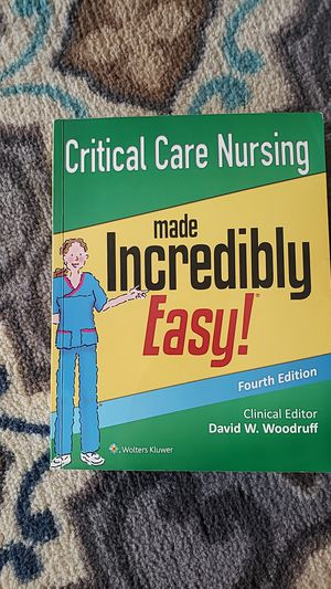 Critical care nursing made incredibly easy for Sale in Phoenix, AZ