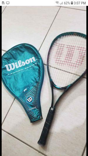 Wilson oversize tennis racket for Sale in Orlando, FL