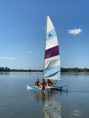 Hobie 14 Catamaran with trailer for Sale in St. Louis, MO