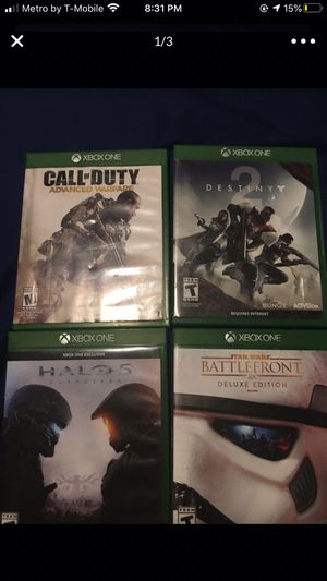 Xbox one and 360 games for Sale in Tempe, AZ