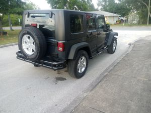 For sale jeep. Wrangler. Unlimitet 2008 v6 in perfet condition ac good. Engine no leak oil. 126 miles l. Ask 14100. Oh best offer for Sale in Dundee, FL