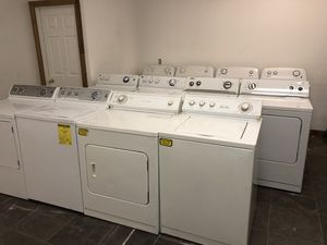 Washers and dryers! Sets or singles available. for Sale in Salt Lake City, UT