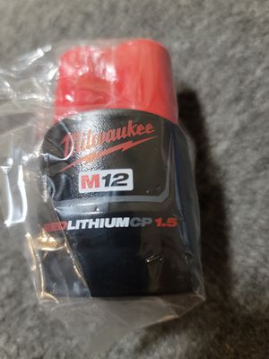 Milwaukee M12 CP 1.5 Ah Battery [Firm on Price] for Sale in Phoenix, AZ