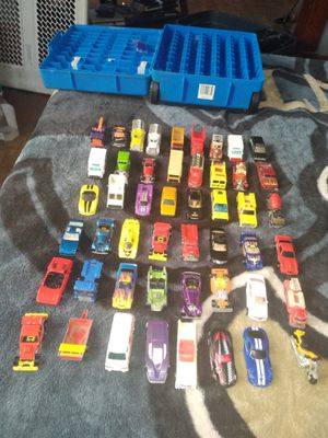 Hot wheels from the 70s and 80s four hundred bucks for the whole lot for Sale in Cedar Rapids, IA