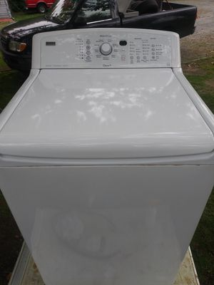 KENMORE. ELITE. WASHER -. CANYON. CAPACITY.- QUIET PAK 4 for Sale in Fircrest, WA