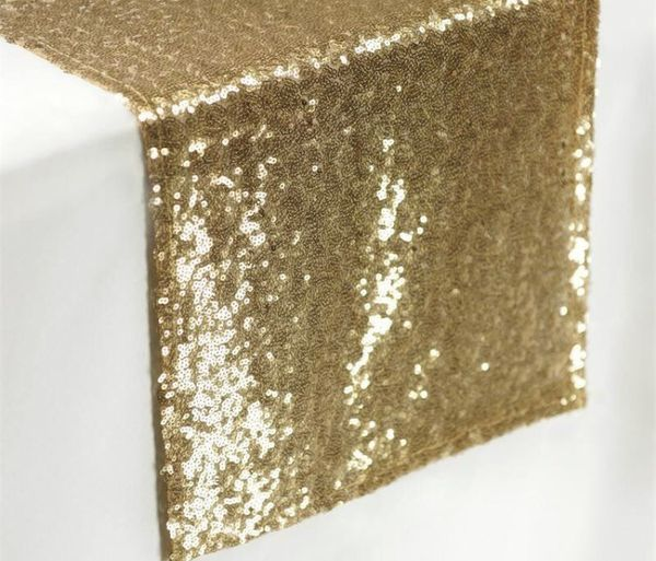 Gold sequin table runner Q(9) $5 each! Loc. North hollywood