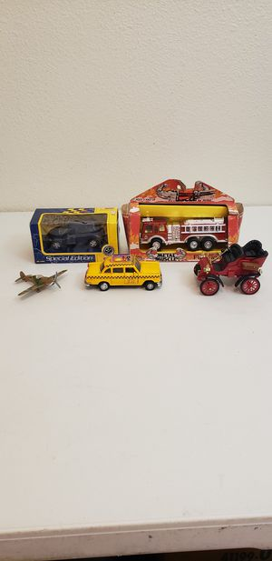 Group of 5 Collectible Mostly Die Cast Toys $25 (Santa Rosa) for Sale in Santa Rosa, CA
