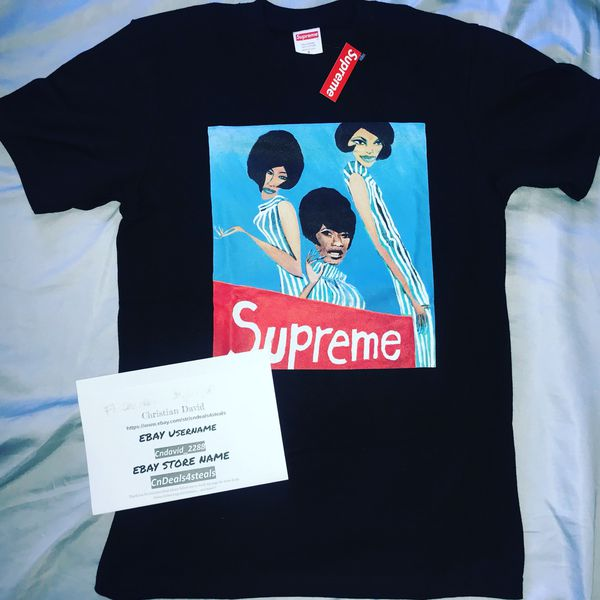 6a472b4a9aad Supreme Group Tee Black Size Small Rare Size Supreme Fw18 New Ready To Ship