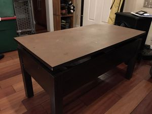 Lift Top Coffee Table w/ Hidden Compartment and Storage Shelves Modern Furniture for Sale in Long Beach, CA