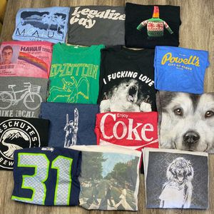 Bundle* 15 Men's Large t-shirt bundle* for Sale in Sagle, ID