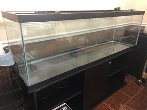 125 gal. fish tank, pump, filter, heater & gravel cleaner for Sale in Alvin, TX