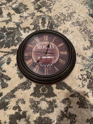 Coffee Design Clock for Sale in Burnt Chimney, VA
