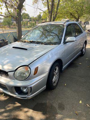 Subaru wrx for Sale in Roseville, CA