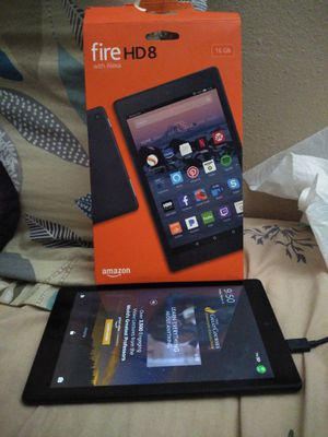 Amazon Fire HD 8 Tablet for Sale in Pomona, CA