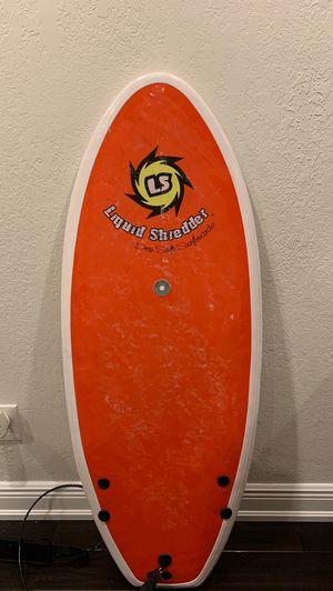 Liquid Shredder Element Pro soft top surfboard (Peruvian Hybrid) for Sale in Tarpon Springs, FL