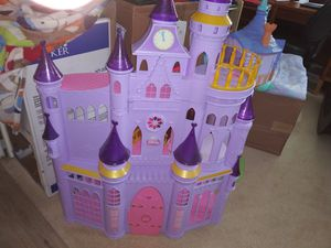 Disney princess Castle and Tower OBO for Sale in North Port, FL