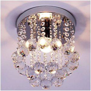 Crystal Chandelier With Dangling Crystal Balls Ceiling Mount For Kitchen Entryway Bedroom Bathroom Closet for Sale in Hemet, CA