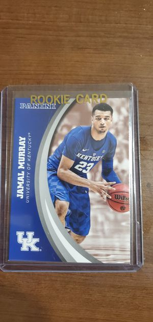 JAMAL MURRAY ROOKIE PANINI CARD for Sale in Phoenix, AZ