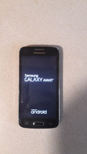 Samsung galaxy Avant phone by metro pcs includes Metro Pcs sim card for Sale in Baltimore, MD