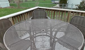 Iron Patio Table for Sale in Quincy, IL