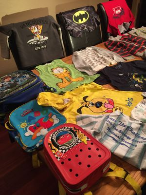 Kids clothes and backpacks for Sale in Glendale, AZ