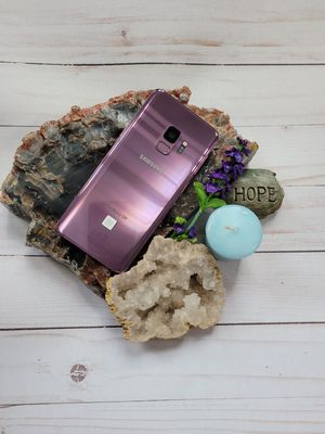 Samsung Galaxy S9 Lilac Purple (Unlocked + Factory Reset + No Cracks) for Sale in Fontana, CA