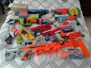 Big nerf gun lot for Sale in North Potomac, MD