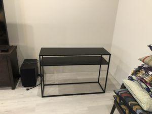 Sleek, Modern Metal Sofa Table for Sale in Pojoaque, NM