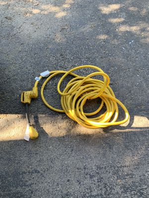 RV/Camper Extension Cord with Adapter for Sale in Wadsworth, IL