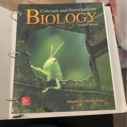Concepts and investigations Biology 4th Edition with Access Code for Sale in San Angelo,  TX