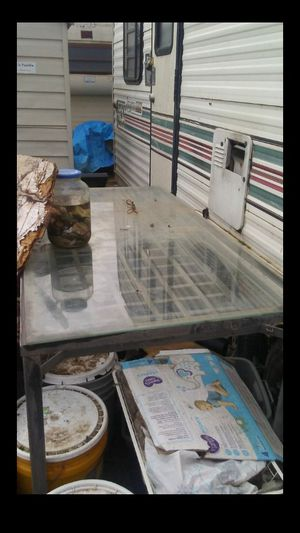 Rectangle glass kitchen table for Sale in Modesto, CA
