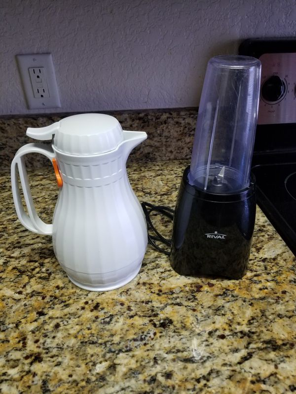 Thermos and blender
