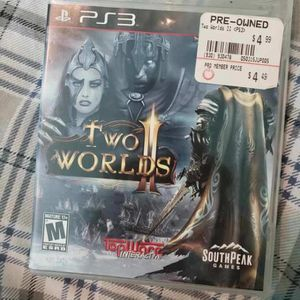 Two Worlds II For Playstation 3 for Sale in New Lenox, IL