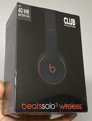New! Beats by Dre Solo 3 wireless club collection for Sale in Tampa, FL