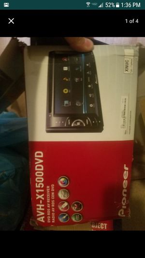 AVH-X1500DVD stereo for Sale in Pittsburgh, PA