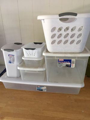 Sterilite Storage Solution. for Sale in Vancouver, WA