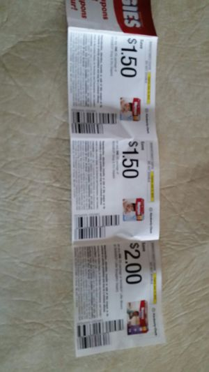 Huggies coupons for Sale in Mayville, WI