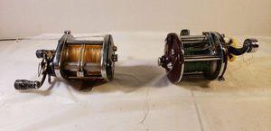 Vintage Fishing Reels- PENN PEERLESS #9 ($45) // OCEAN CITY 940 ($30) - Or Both for $60 for Sale in Lorain, OH